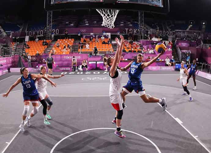 U.S. Women Win Gold In 3-On-3 Basketball