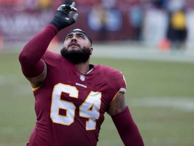 Ex-Redskins DT AJ Francis Slams Team's Logo As 'Racist' On Instagram, Signs With Giants