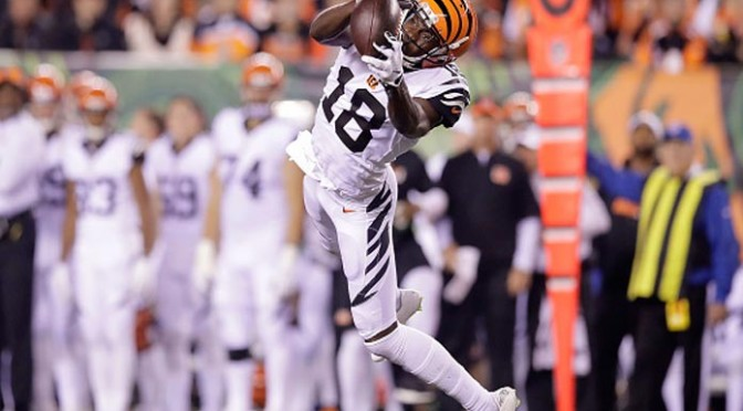 A.J. Green Has Great Game As Bengals Top Dolphins 22-7