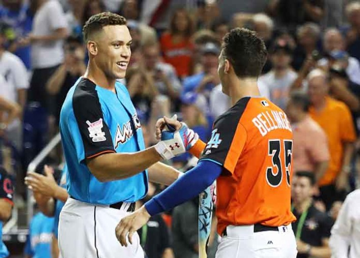 Watch Highlights: Aaron Judge Wins Home Run Derby 2017