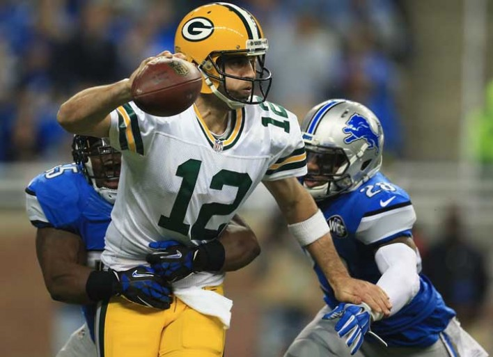 buy popular c71e9 cccfe Vegas Oddsmakers Bet Against Aaron Rodgers' #HailMary ...