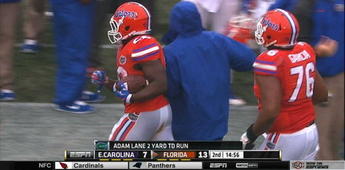Florida's Adam Lane Joyously Talks About Time He Pooped His Pants During a Bowl Game