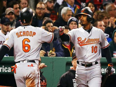Red Sox Apologize After Orioles' Adam Jones Is Hit With Racial Slurs, Peanuts At Fenway Park