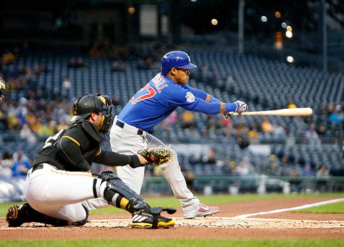 Watch: Jason Heyward, Addison Russell Lead Cubs To 14-3 Rout Of Pirates