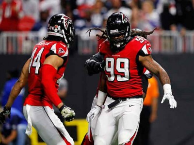 Falcons DE Adrian Clayborn Sets Team Record With 6 Sacks In Win Vs. Cowboys