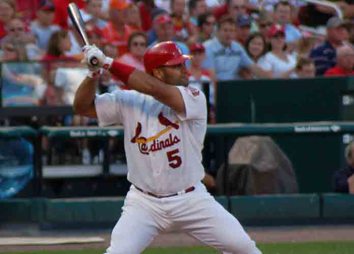 WATCH: Albert Pujols Hits 66O HR, Ties Mays For Fifth All Time