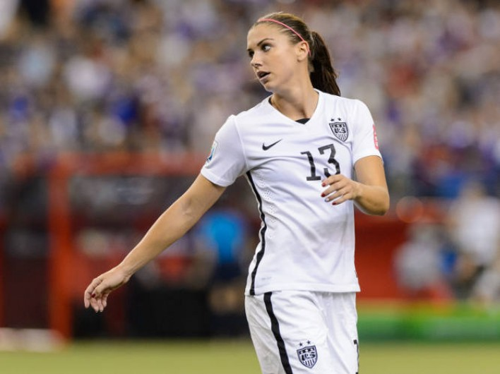 USWNT Forward Alex Morgan's Diet Gameplan [Video Exclusive]