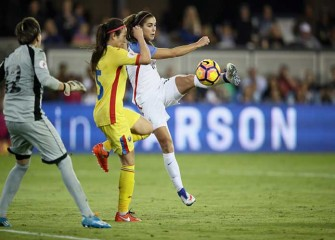 US Women's National Team Close Out Rough 2016 With 5-0 Win Over Romania