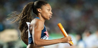 Allyson Felix, Olympic Gold Medalist, Gets The Power Of Plyometrics   EXCLUSIVE