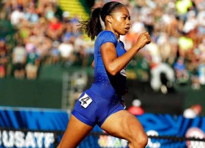 Allyson Felix, U.S. Olympic Sprinter, Shares How She Prepares For A Race [VIDEO EXCLUSIVE]