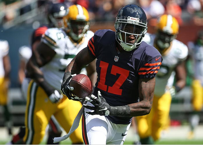 Bears Won't Use Franchise Tag On Alshon Jeffery; WR Likely To Hit Free Agency