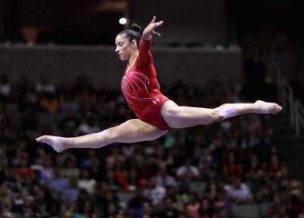Aly Raisman, Team USA 2016 Olympic Gymnast, On Her Training Routine [VIDEO EXCLUSIVE]