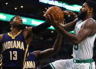 Boston Celtics Support Amir Johnson In Win Over Houston Rockets