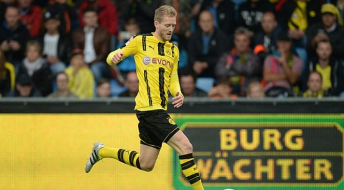 Andre Schurrle's Late Strike Leads Borussia Dortmund To 2-2 Draw With Real Madrid