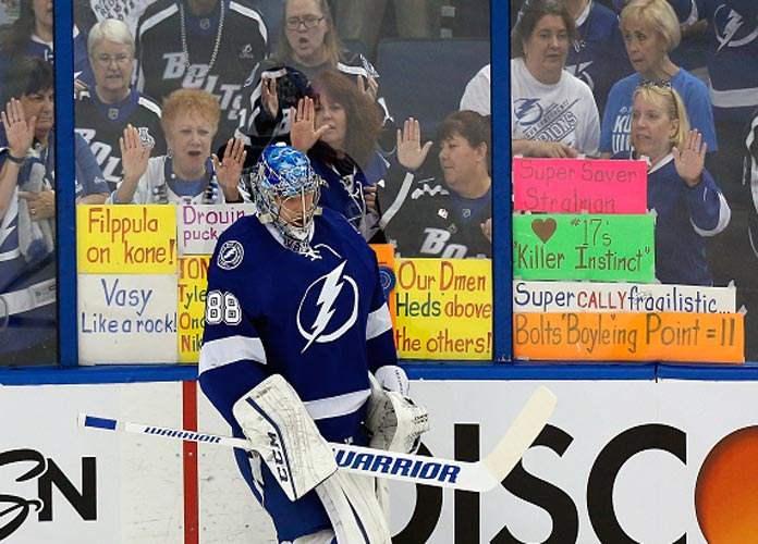 Tampa Bay Lightning Close Out Series Against Hurricanes