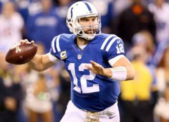 Andrew Luck Returns To Lucas Oil Stadium After Retirement