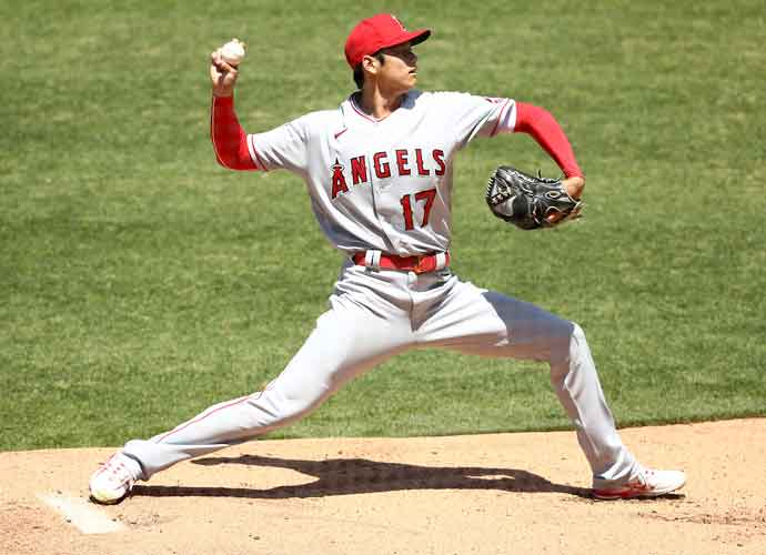 Angels' Two-Way Star Ohtani Fails To Get An Out In First Pitching Outing