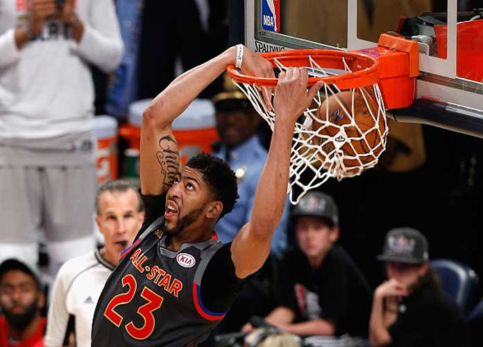 Anthony Davis Scores Record 52 Points, West Beats East 192-182 In 2017 NBA All-Star Game