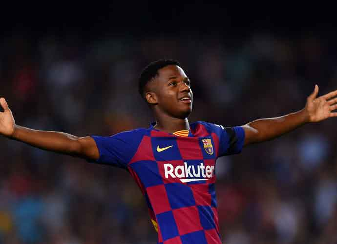 FC Barcelona Star Ansu Fati Out For Four Months
