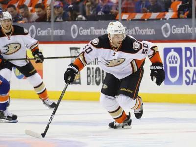 Ducks' Antoine Vermette Ejected, Suspended 10 Games For Slashing Lineman