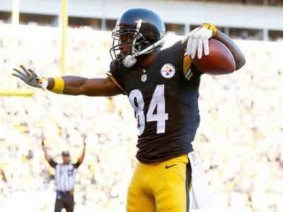 Antonio Brown Works Out With New Orleans Saints
