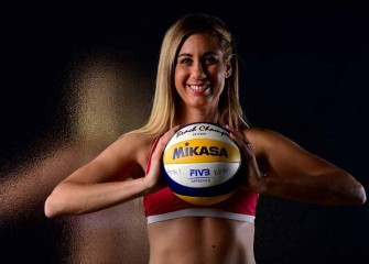 April Ross, Team USA 2016 Olympic Beach Volleyball Player, On Her Start In Outdoor, Pre-Match Prep [VIDEO EXCLUSIVE]
