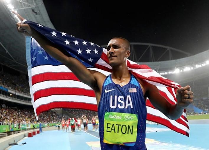 Ashton Eaton Wins Second Straight Gold Medal In Decathlon