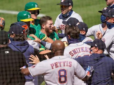 Suspensions Levied Against Ramón Laureano & Astros After Brawl