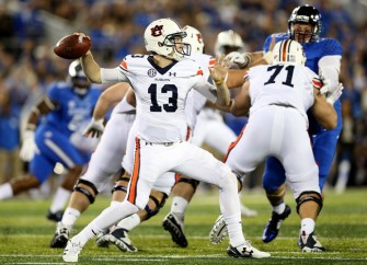 Auburn Tigers Beat Kentucky Wildcats 30-27