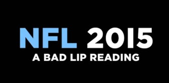 The 2015 Edition of NFL Bad Lip Reading [Cool Video]
