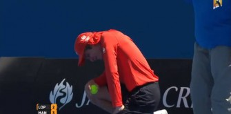 Australian Open Ball Boy Hit By 122-MPH Serve In Private Parts