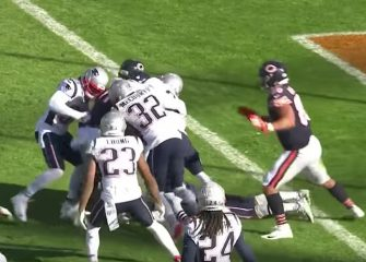 Mitchell Trubisky's Last-Second Hail Mary Falls One Yard Short As Bears Fall To Patriots 38-31 [VIDEO]