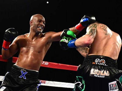 Watch: Bernard Hopkins Knocked Out Of Ring By Joe Smith Jr. In Retirement Fight