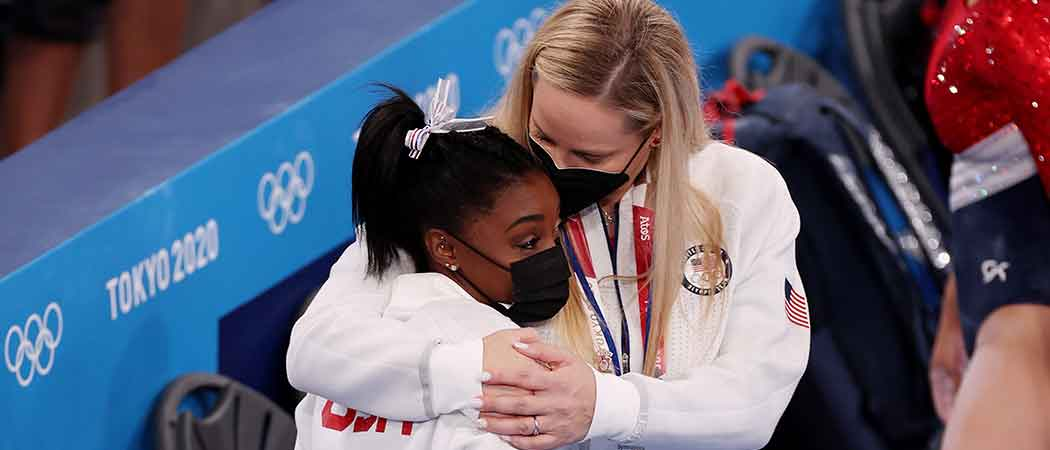 Simone Biles Withdraws From Women's Team Final Due To Mental Health Issues