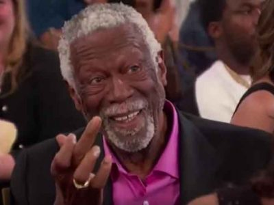 Bill Russell Gives Charles Barkley Middle Finger At NBA Awards, Fans Go Wild On Social Media [VIDEO]