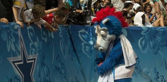 Indianapolis Colts Mascot Wrecks Children In Mascot Challenge
