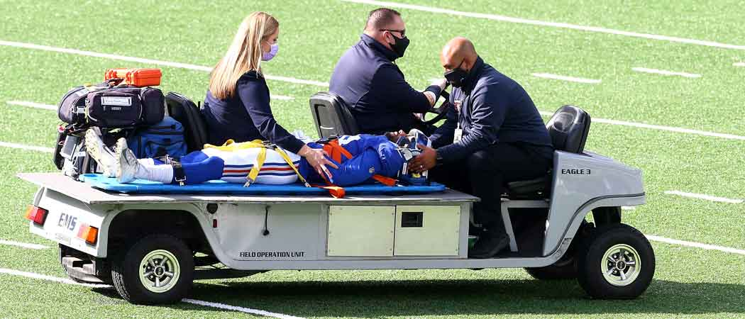 Giants Receiver C.J. Board Released From Hospital