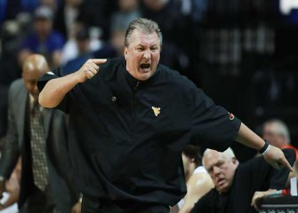West Virginia Coach Bob Huggins Falls In Minor Health Scare During 77-62 Win Over Texas