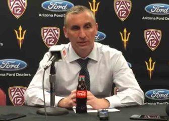 Arizona State Coach Bobby Hurley Accidentally Hit In Face By Ball, Team Beats Arizona [VIDEO]