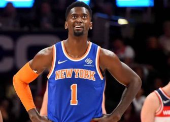 Lakers Beat Knicks 117-87; Portis Ejected For Hit On Caldwell-Pope, Davis Leaves With Back Injury