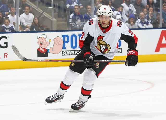 Senators' Bobby Ryan Records Hat Trick Following Return From Alcohol Abuse Program
