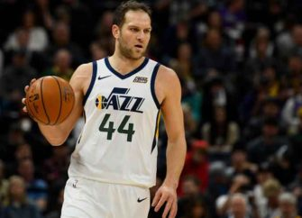Bojan Bogdanovic Nails Buzzer Beater To Lift Jazz Over The Rockets 114-112, His Second Game-Winner This Season