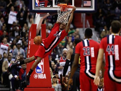 Wizards Top Lakers 119-108 To Clinch First Division Title Since 1979