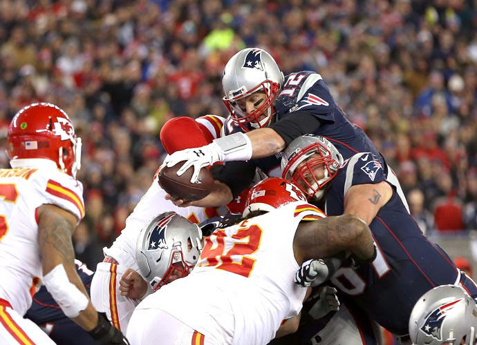 Patriots Surpass Chiefs To Advance To Fifth Straight AFC Championship Game