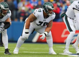Philadelphia Eagles' Guard Brandon Brooks Out For Season After Tearing His Achilles