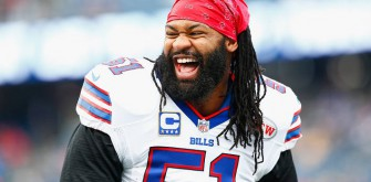 Brandon Spikes Charged With Highway Crash
