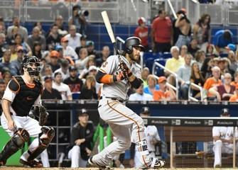 Giants' Brandon Crawford Ties MLB Record With Seven Hits In 8-7 Win Over Marlins