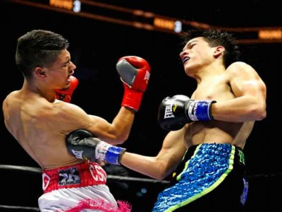 Boxer Brandon Figueroa On His Training Diet [VIDEO EXCLUSIVE]