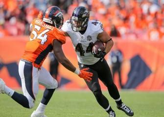 Broncos LB Brandon Marshall Kneels During Anthem Before 21-20 Season-Opening Win Vs Panthers