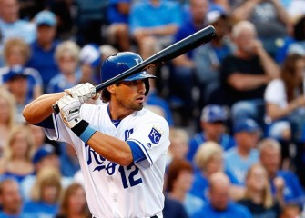 Royals OF Brett Eibner Carted Off With Ankle Injury In 10-5 Win Over Rays